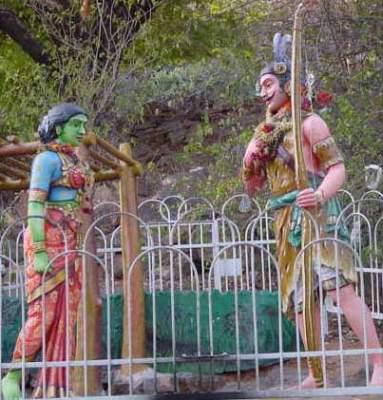 Veddar Murugan wooing Valli Amma