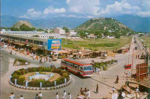 view of Palani town