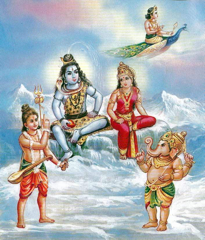 Ganapati employs cunning to cheat Murugan