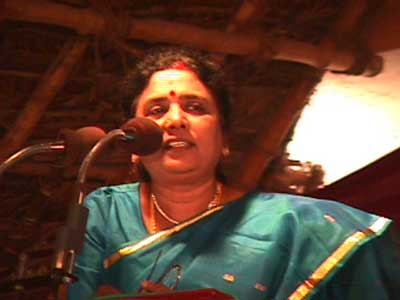 Ladies' College Principal Dr. Mrs. Jeyabalan