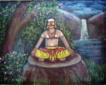 Curapatuman seeks the grace of Lord Siva by performing tapas