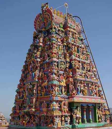 Kovil Raja Gopuram Raja Gopuram Palani Malai
